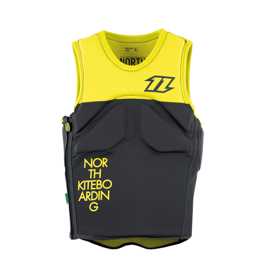 2015 North Kite Vest Waist SZ 48 S yellow black
