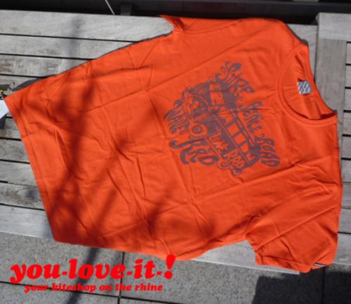 RRD T-Shirt VW-Bus Orange