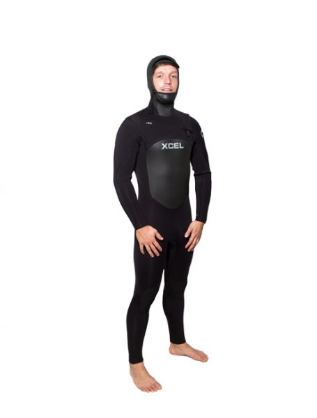 2014 Xcel Wetsuits INFINITI Hooded Wind 6/5mm