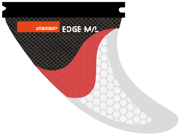 RRD Edge Thruster Fin Set M/L