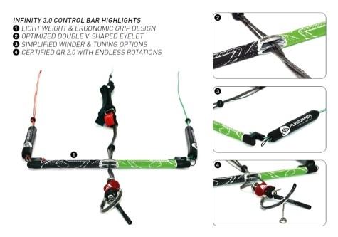 Flysurfer Infinity 3.0 Control Bar