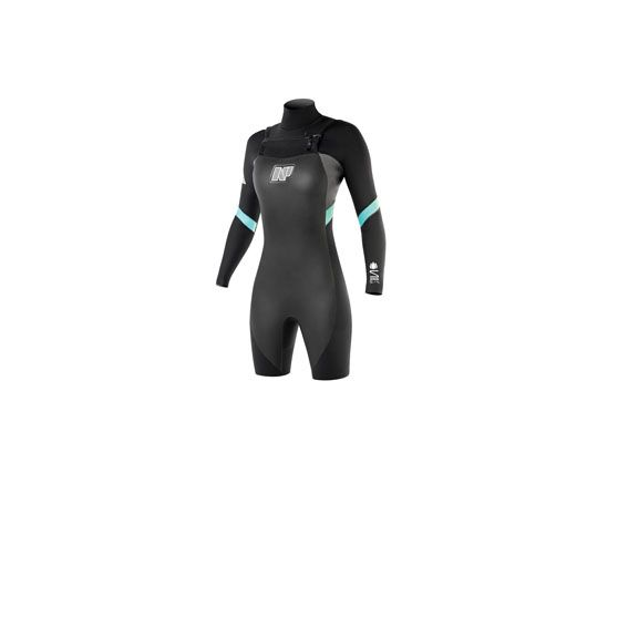 2015 NP SURF Serene L/S Springsuit 3/2 Front Zip
