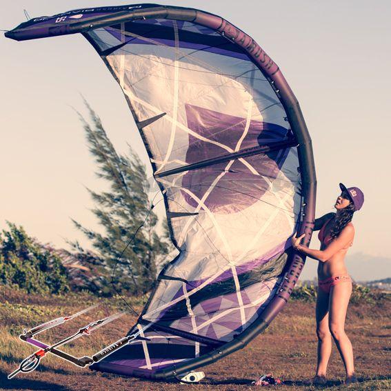 2015 Airush Diamond 9m Kite