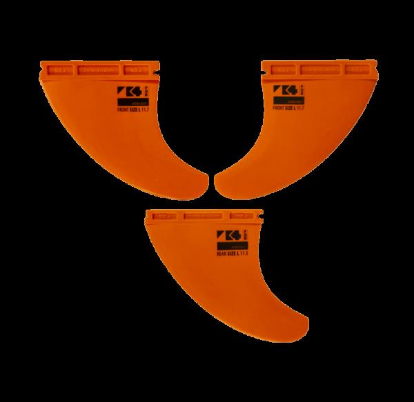 RRD K4 Thruster Fin SET (3 fins)