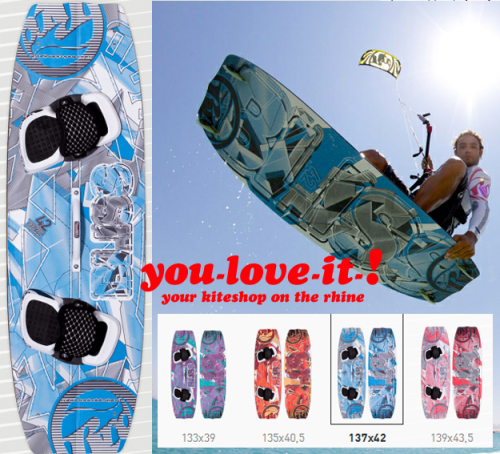 2012 RRD BLISS Kiteboard