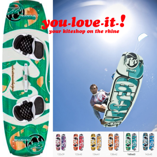 2012 RRD PLACEBO Kiteboard