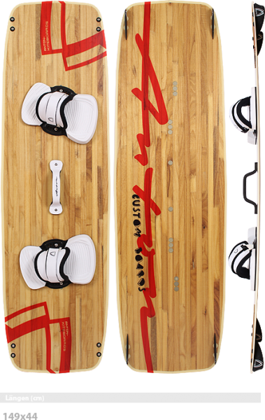 ANTON KITEBOARDS M-Train LTD