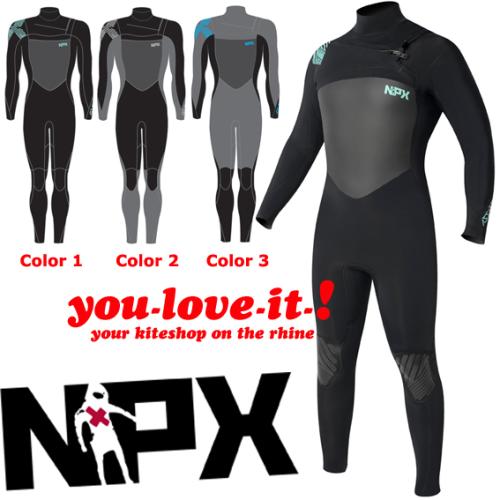 NPX Assassin Frontzip 4 mm Wetsuit