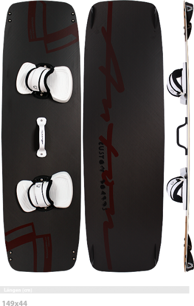 ANTON KITEBOARDS M-Train LTD C+