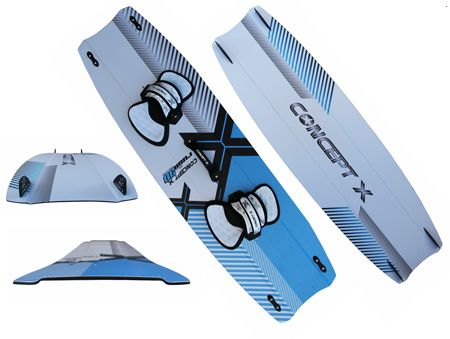 Concept X Kiteboard Rush 3D 140x44cm