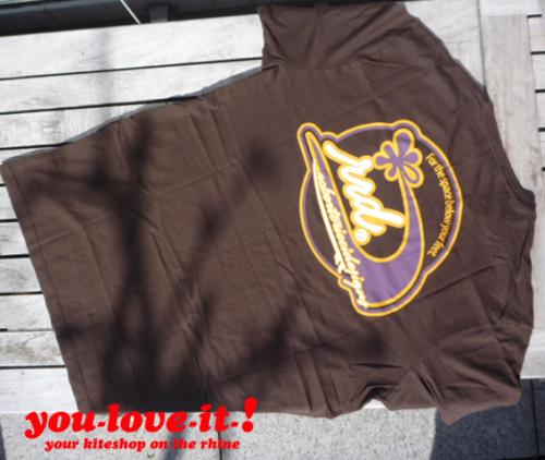 RRD T-Shirt Wave Braun