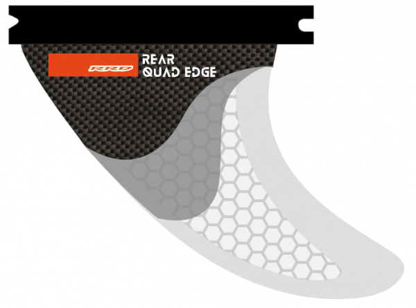 RRD Edge Thruster Fin Set Rear Quad