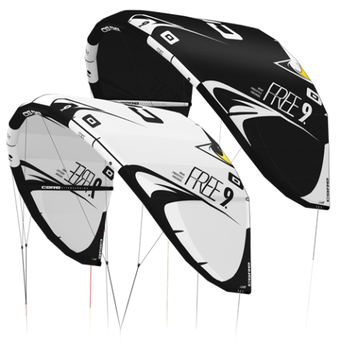 Core Free DEMO Kite 12m Black