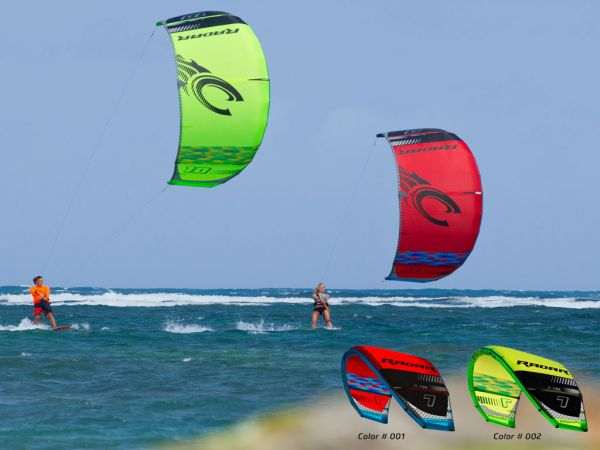 2016 Cabrinha Radar 7m Kite red c1