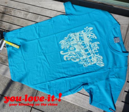 RRD T-Shirt VW-Bus Türkis