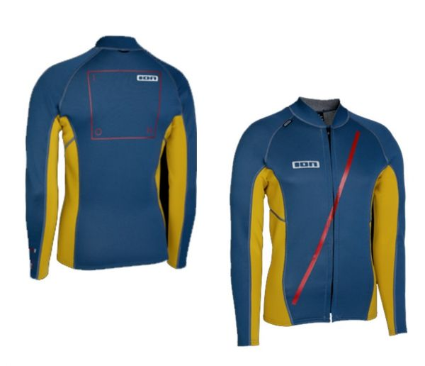 2015 ION Neo Zip Top Men LS 2/1