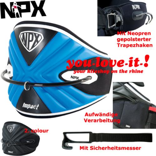 2012 NPX Impact de Luxe Hüfttrapez Easy Release