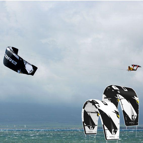 Core Impact 13m white Kite